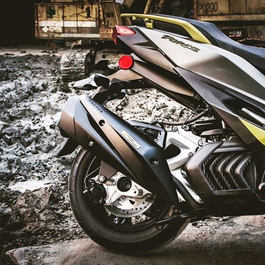 S-RZ エスアールゼット Full exhaust system(silent type/steel) OZ 150 ES 150