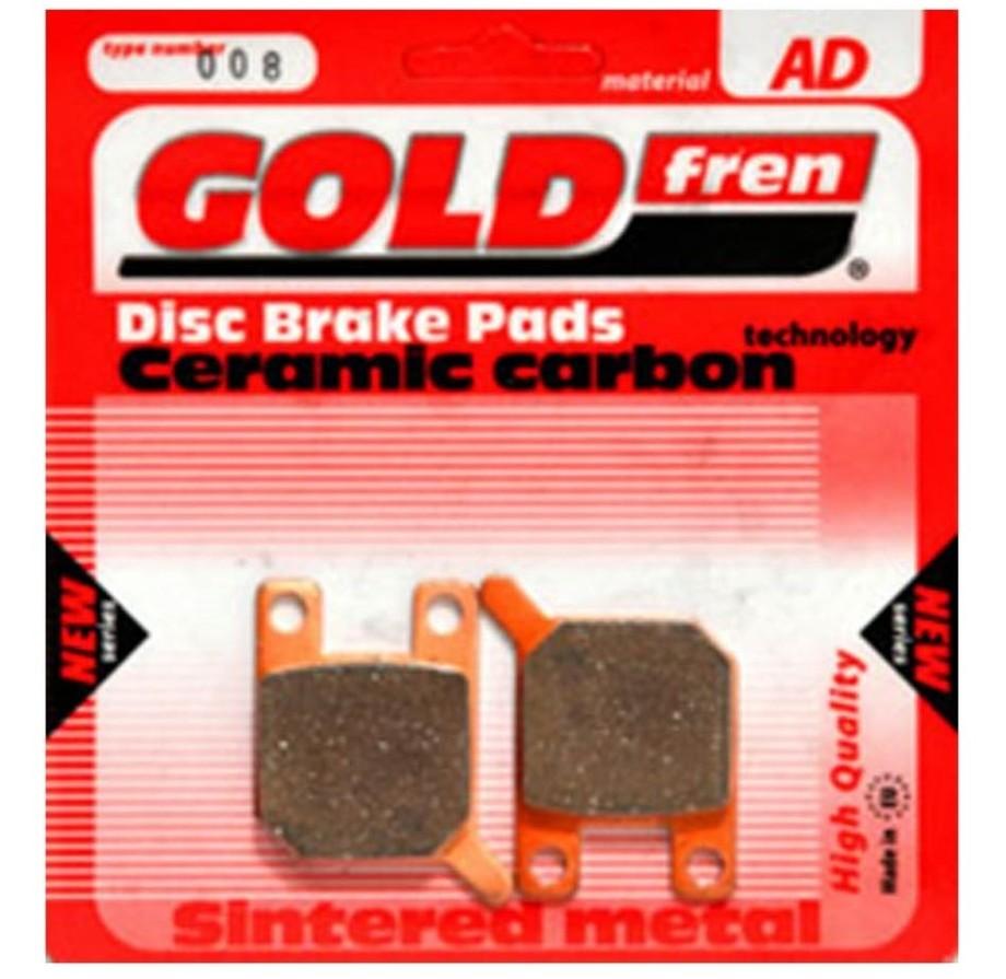 ブレーキ GOLDfren ゴールドフレン TYP383AD  GOLDfren ゴールドフレン ブレーキパッド・シュー TYP 383 AD ブレーキパッド