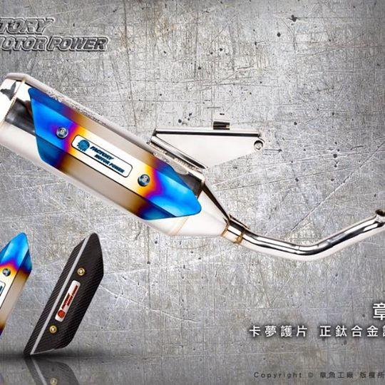 S-RZ エスアールゼット S-RZ 6th generation Full exhaust system CYGNUS X NXC-125K CYGNUS X NXC-125N GTR 125 GTR aero GTR FI Ray 125