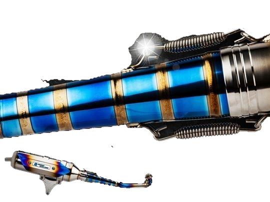 S-RZ エスアールゼット TK1 Full exhaust system(Titanium exhaust pipe) GR125 GT evo 125