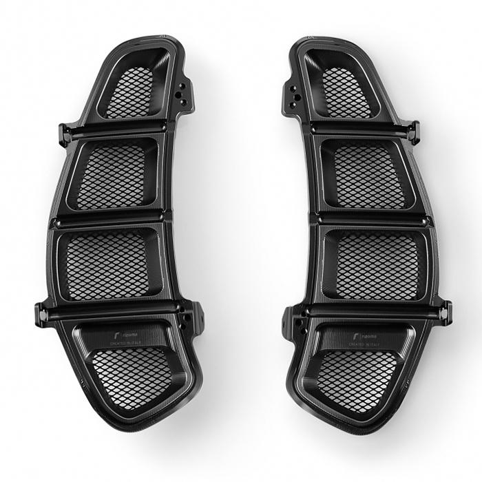 rizoma リゾマ スクーター外装 グローブボックスメッシュカバー カラー:ブラック GTS 300