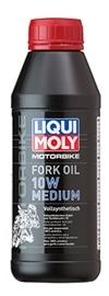 LIQUI MOLYリキモリ サスペンションオイルフォークオイル Fork Oil Mediun 数量は多 MOLY リキモリ お買い得品 500mml 10W フォークオイル