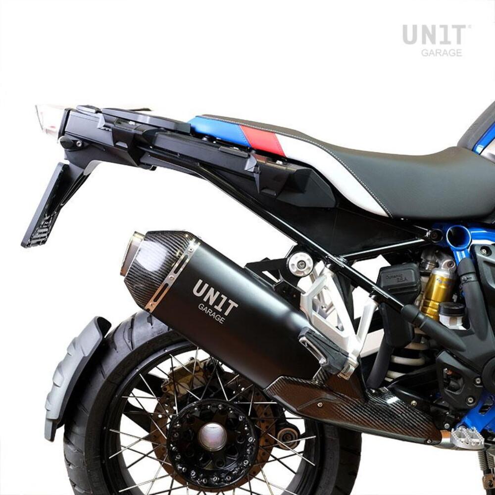 UNIT GARAGE ユニットガレージ ブラック エキゾースト RAD Kit R 1250 GS LC Rad R 1200 GS ADV LC R 1200 GS LC R 1250 GS ADV LC R 1250 GS R 1250 GS ADV