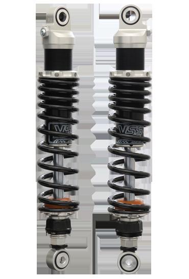 【送料無料】サスペンション XL883R YSS ワイエスエス 116-3128315  YSS ワイエスエス リアサスペンション SPORTS LINE リアツインショック 【Zシリーズ】 Z366 スプリングカラー:マットブラック ボディカラー:ブラック XL883R