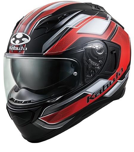 【クーポン配布中】OGK KABUTO オージーケーカブト KAMUI 3 ACCEL [カムイ・3 アクセル フラットブラックレッド] ヘルメット