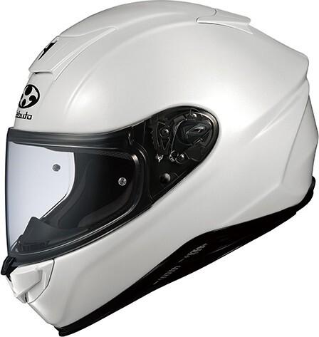 【在庫あり】OGK KABUTO オージーケーカブト フルフェイスヘルメット AEROBLADE-V [AEROBLADE-5 エアロブレード・ファイブ パールホワイト] ヘルメット サイズ:L
