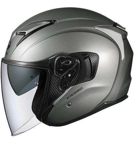 OGK KABUTO オージーケーカブト ジェットヘルメット EXCEED [エクシード クールガンメタ] ヘルメット サイズ:L