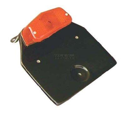 K&H ケイアンドエイチ ナンバープレート関連 ライセンスステー ルーカスランプ付 汎用