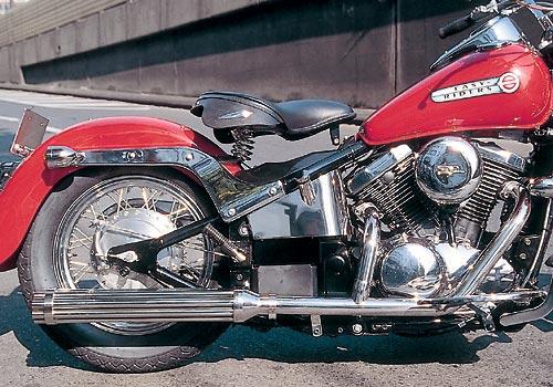 EASYRIDERS イージーライダース フルエキゾーストマフラー FLHスタイル2in1マシンガンマフラー バルカン400 バルカンクラシック400 バルカンドリフター400