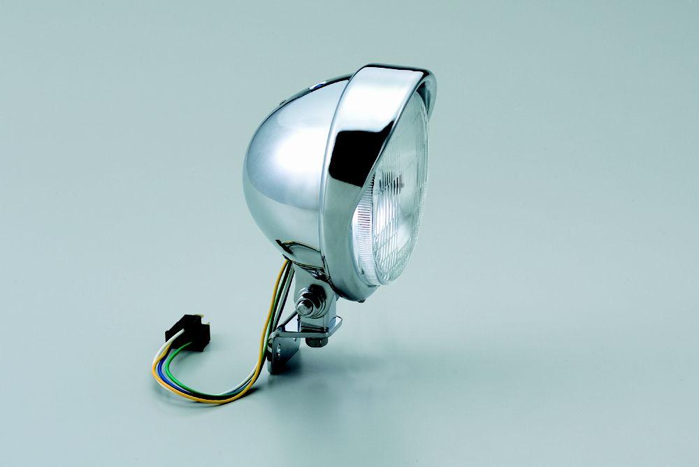 HURRICANE ハリケーン 5.5ベーツバイザータイプヘッドライトキット ビラーゴ250(XV250) ビラーゴ400