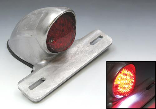 EASYRIDERS イージーライダース テールランプ LEDイーブルスキャロップテールライト