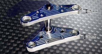 【送料無料】ハンドル周辺パーツ ドラッグスター400 ドラッグスター400クラシック KENTEC ケンテック W-1394-579  KENTEC ケンテック トップブリッジ ハイクオリティートリプル (7度) ドラッグスター400 ドラッグスター400クラシック
