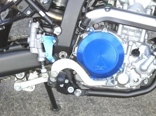 K&T ケイアンドティー ガード・スライダー クラッチカバー カラー:ゴールド WR250R WR250X