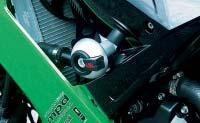 LSL エルエスエル ガード・スライダー クラッシュパッド用マウンティングキット ZX-10R(08-10)