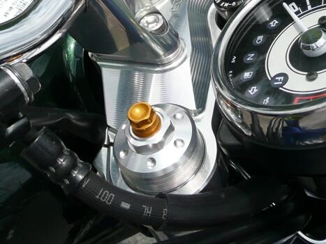 AGRAS アグラス フロントフォークイニシャルアジャスター W800