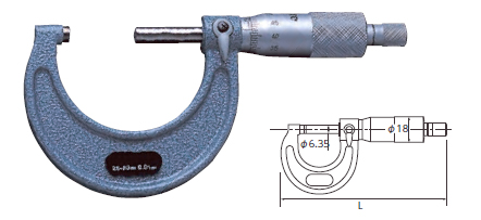 KTC ケイティーシー その他の工具 外側マイクロメーター サイズ:0-25mm