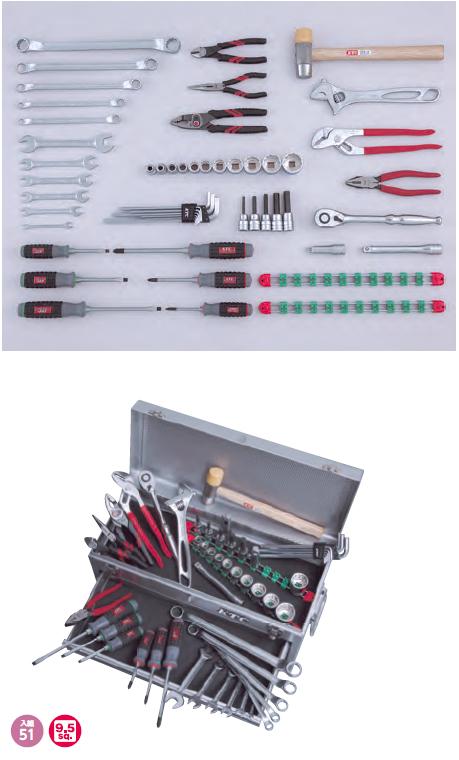 KTC ケイティーシー キャビネット 一般機械用工具セット チェストタイプ