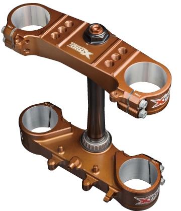 XTRIG エックストリッグ TRIPLE CLAMP(トリプル クランプ) KX250F KX450F