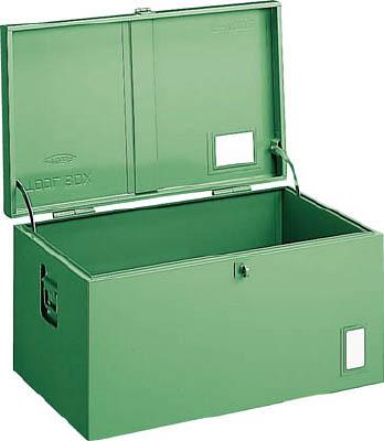 トラスコ中山 工業用品 TRUSCO 中型車載用工具箱 中皿なし 900X420X370