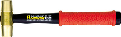TRUSCO トラスコ中山 工業用品 OH ライトン真鍮ハンマー#4