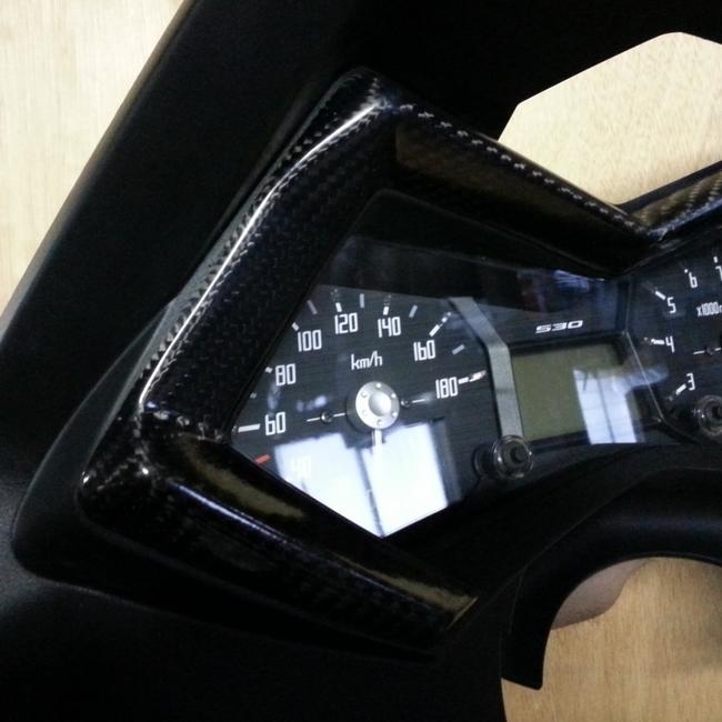 MrDon弥生 ミスタードンやよい その他メーター関連 メーターカバー タイプ2 TMAX530