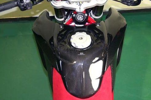 CARBON DRY カーボンドライ ガソリンタンクプロテクター HYPERMOTARD HYPERMOTARD 1100 S