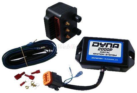 ガッツクローム GUTSCHROME ダイナ2000イグニッションモジュール 8ピン 独立点火コイルセット 汎用