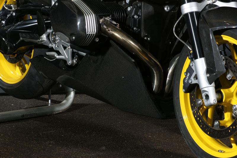 ILMBERGER イルムバーガー 競技専用品アンダーカウルとエキパイ(ステンレス製)セット ストリート・リーガル R1200S