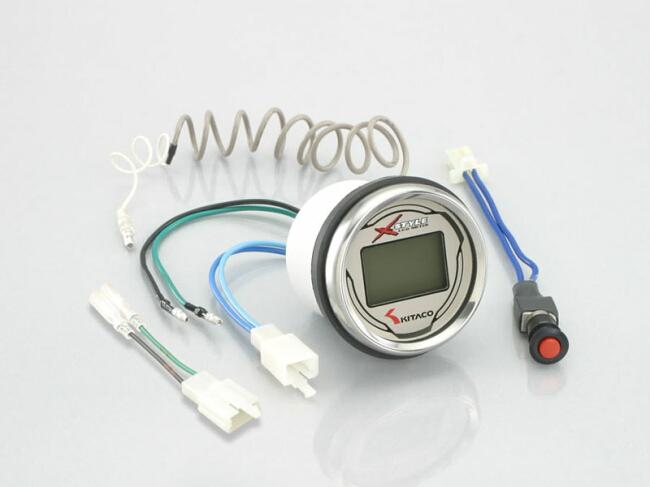 キタコ KITACO スピードメーター LCDデジタルスピード&タコメーター エイプ タイプD エイプ100 タイプD エイプ50 ゴリラ モンキー