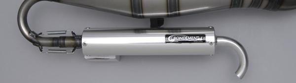 GRONDEMENT グロンドマン スリップオンマフラー SPIRAL BEET2 グロンドマン スパイラルビート専用 サイレンサー単品 シルバー GRANDAXIS100 GRANDAXIS100 シルバー [グランドアクシス], 九戸郡:e9aee51d --- arvoreazul.com.br