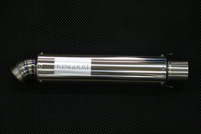 MOON FIELD ムーンフィールド KINGDOM スリップオンマフラー レーシングチタンサイレンサー R-03