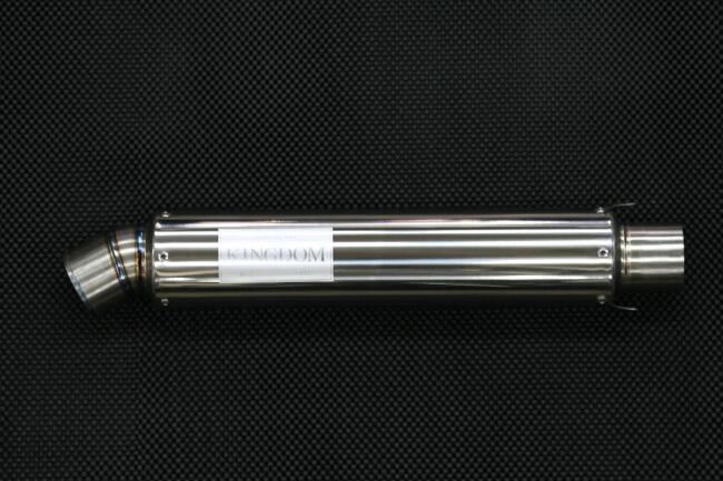 KINGDOM キングダム スリップオンマフラー レーシングチタンサイレンサー R-02