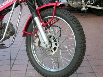 Moto Salgo モトサルゴ ディスクローター CT110(P型) ノーマルフォーク対応 フロントブレーキディスク化 ホイールキット