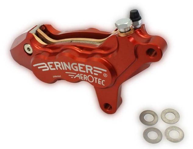 BERINGER ベルリンガー 6Pアキシャルキャリパー 左用 ブラック GSX1300R HAYABUSA[ハヤブサ](99-06) ZRX1200R(01-08)