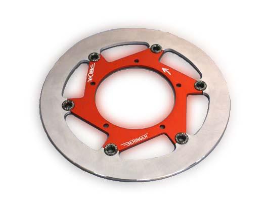 BERINGER ベルリンガー ディスクローター AERONAL DISC (エアロナルディスク) ステンレスローター カラー:チタン FZ1 FAZER(RN17N)[フェザー] FZ1(RN21J) V-MAX (1700)FI YZF-R1