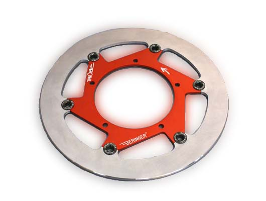 BERINGER ベルリンガー ディスクローター AERONAL DISC (エアロナルディスク) ステンレスローター カラー:パープル CBR1000RR 06-15 VTR1000SP-1 00-01 VTR1000SP-2 02-05