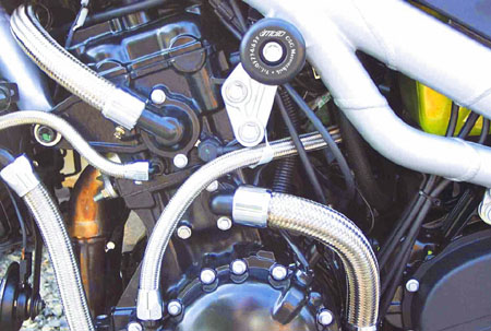 GSG MOTOTECHNIK GSGモトテクニック ガード・スライダー フレームスライダー 955 SPEEDTRIPLE 1050【スピードトリプル】 05-10 SPEEDTRIPLE [スピードトリプル] T509