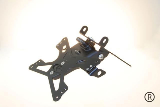 EVOTECH エボテック ナンバープレートホルダー(ホルダーのみ) FZ6 FZ6 FAZER [フェザー]
