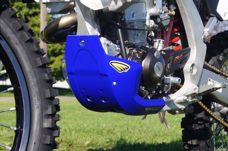 CYCRA サイクラ ガード・スライダー フルカバースキッドプレート カラー:ファクトリーグレー YZ250 F 10-16 YZ450 F 10-16