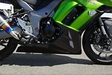 COERCE コワース RSアンダーカウル 素材:FRP カラー:黒ゲル Ninja1000 /ABS