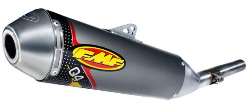 FMF エフエムエフ Q4スリップオンマフラー KLX250 KLX250R (競技用) KLX250SR KLX300R