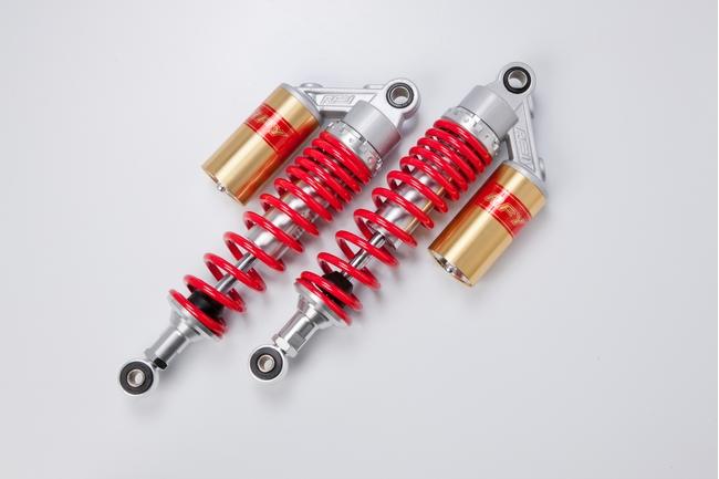 RFY アールエフワイ リアサスペンション リアショック カラー:レッド/ゴールド CB400SF VTEC(NC39)