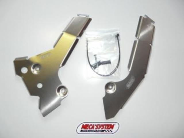 MECASYSTEM メカシステム ガード・スライダー フレームガード SE2.5i-F 09-10 : SE3.0i-F 09-10