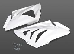 Magical Racing マジカルレーシング サイドカバー サイドカウル 素材:FRP製(ホワイト) S1000RR