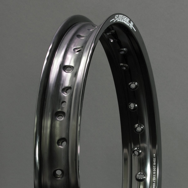 Z-WHEEL ズィーウィール ホイール本体 R50リム カラー:ブラック CR250R 02-07 CR250R 95-96 CR250R 97-01 CRF450R 02-18