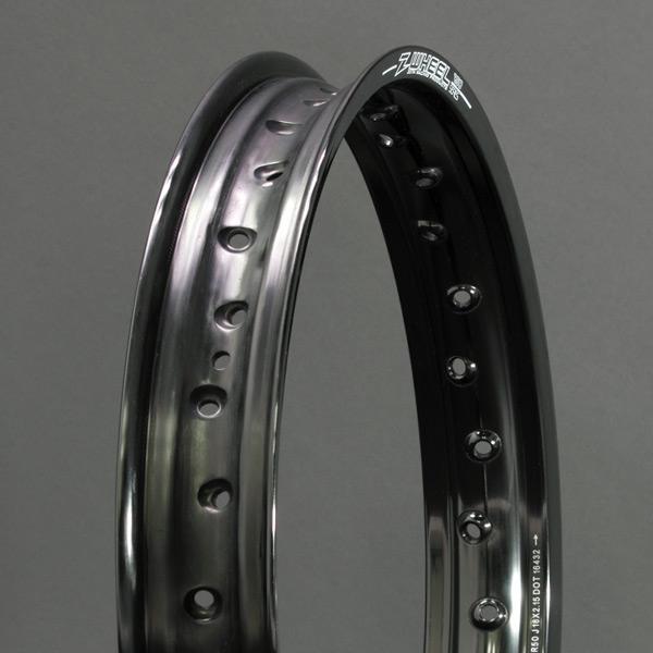 Z-WHEEL ズィーウィール ホイール本体 R50リム カラー:ブラック CR125R 02-07 CR125R 95-96 CR125R 97-01 CRF250R 04-17
