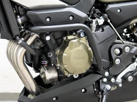 【ポイント5倍開催中!!】【クーポンが使える!】 Fehling フェーリング ガード・スライダー プロテクションガード economic Black  XJ600