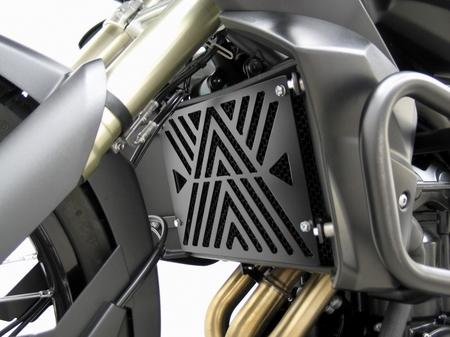Fehling フェーリング エンジンカバー ラジエーターカバー from metal sheet black  TIGER800 [タイガー]