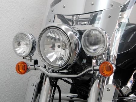 Fehling フェーリング エンジンカバー ライトバー 後付ヘッドライト用 VN1700 Classic