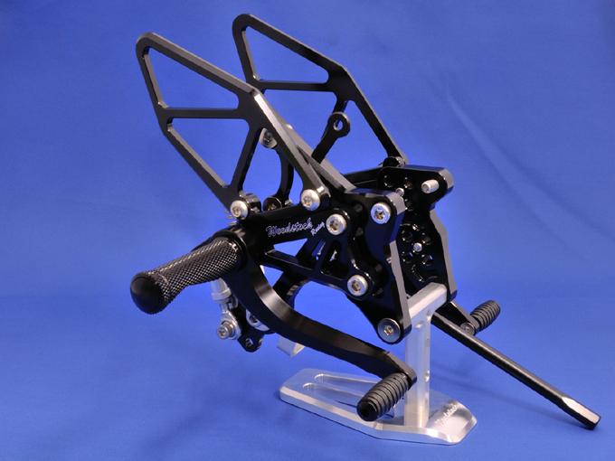 WOODSTOCK ウッドストック バックステップキット ZX-10R 11-用 ABS車仕様対応 ZX-10R